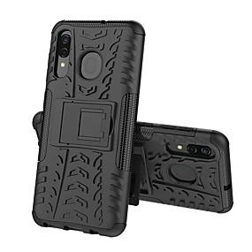 hesapli Cep Telefonu Kılıfları-Pouzdro Uyumluluk Samsung Galaxy A5(2018) / A6 (2018) / A6+ (2018) Şoka Dayanıklı / Satandlı Arka Kapak Zırh Sert PC