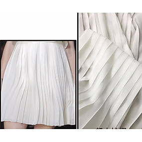 cheap Crafts & Sewing-Chiffon Solid Inelastic 150 cm width fabric for Special occasions sold by the 0.5m