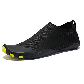 baratos Sapatos Esportivos Masculinos-Homens Sapatos Confortáveis Tecido elástico Verão / Primavera Verão Esportivo Tênis Água / Tênis Anfíbio Respirável Preto / Fúcsia / Verde