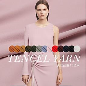povoljno Novo u ponudi-Svila Jednobojni Rugalmas 140 cm širina tkanina za Odjeća i moda prodan od 0.1M