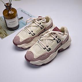 2f41d0a06e5f Γυναικεία Δέρμα Άνοιξη Αθλητικά Παπούτσια Χαμηλό τακούνι Μπεζ   Ροζ