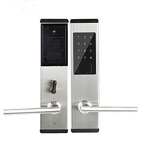 hesapli Kapı kilidi-Bluetooth elektronik akıllı güvenlik akıllı ev uygulaması ile kontrol akıllı ev su geçirmez kapı kilidi kontrol çin