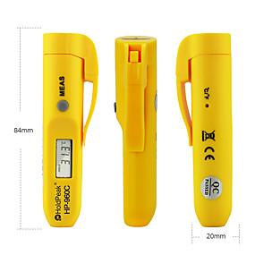 voordelige Super Korting-digitale draagbare infraroodthermometer-holdpeak 960c direct lees mini-thermometer -30 tot 275 (-22 tot 527) contactloze ir-infraroodthermometer met datagreep automatische uitschakeling en / voor