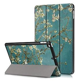voordelige Telefoons en accessoires-hoesje Voor Apple iPad mini 5 / iPad mini 4 Schokbestendig / Flip / Patroon Volledig hoesje Boom / Bloem Hard PU-nahka voor iPad Mini 5 / iPad Mini 4