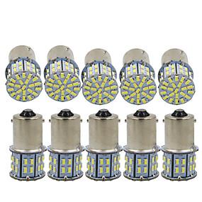 hesapli 50%OFF-10pcs 1156 Araba Ampul 3 W SMD 3014 600 lm 50 LED Dönüş Sinyali Işığı / Fren lambaları / Geri vites (yedek) lambaları Uyumluluk Uniwersalny Tüm Yıllar