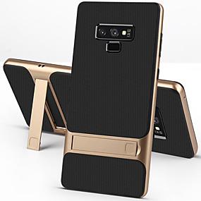halpa Puhelimen kuoret-Etui Käyttötarkoitus Samsung Galaxy Note 9 / Note 8 Iskunkestävä / Tuella Takakuori Yhtenäinen Kova TPU / PC