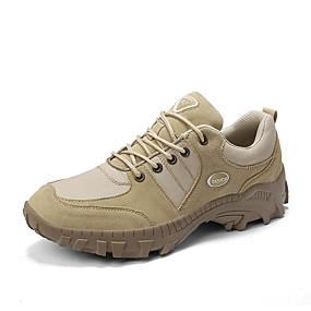baratos Sapatos Esportivos Masculinos-Homens Sapatos Confortáveis Lona / Jeans Primavera Verão / Outono & inverno Esportivo / Casual Tênis Aventura / Caminhada Não escorregar Preto / Khaki