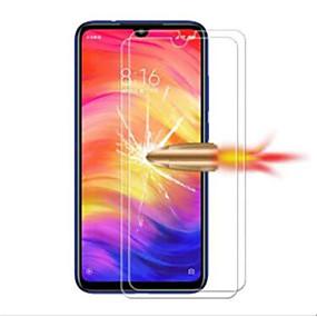 levne Chrániče obrazovky mobilního telefonu-Screen Protector pro XIAOMI Xiaomi Redmi Note 7 / Xiaomi Redmi 7 Tvrzené sklo 2 ks Fólie na displej High Definition (HD) / 9H tvrdost / odolné proti výbuchu