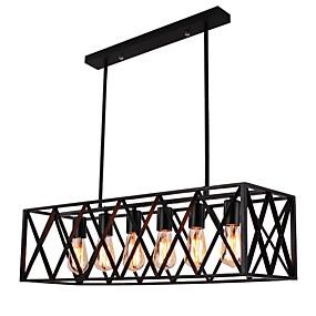 abordables Plafonniers-6 lumières Montage du flux Lumière dirigée vers le bas Finitions Peintes Métal Designers 110-120V / 220-240V Ampoule non incluse / E26 / E27