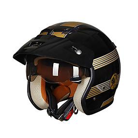 povoljno 90%OFF-Polu-kaciga Odrasli Uniseks Motocikl Kaciga Jednostavan dressing / Prozračnost / Ultra Light (UL)