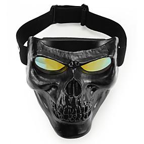 povoljno Motorističke maske za lice-jedinstveni lubanje glava motocikl naočale motocross naočale off road dirt bike zaštitne opreme