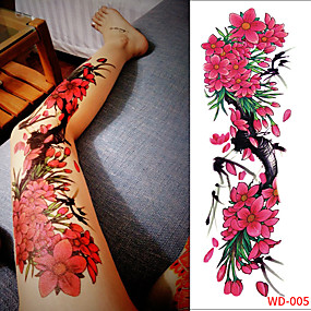 d6c0546a2 3 pcs Temporary Tattoos Eco-friendly / Disposable Body / brachium / Leg  Card Paper