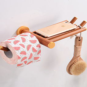 cheap Toilet Paper Holders-Toilet Paper Holder Creative Fun & Whimsical Wood 1pc - Bathroom / Hotel bath Wall Mounted
