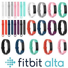 povoljno Smartwatch bendovi-Pogledajte Band za Fitbit Alta HR / Fitbit Alta Fitbit Sportski remen Silikon Traka za ruku