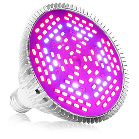 billige LED Økende Lamper-1pc 80 W 4000-5000 lm 120 LED perler Fullt Spektrum For drivhushydroponisk Voksende lysarmatur Hvit Rød Blå 85-265 V Vegetabilsk drivhus