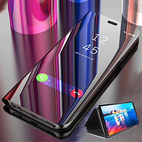 povoljno Apple oprema-kutija za jabuka iphone xr iphone xs max luksuzno ogledalo koža flip mount nosač pametni mobitel slučaj za iphone 6 6s 6s plus 6 plus 7 8 7 plus 8 plus x xs 5 5s se