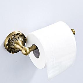 billige Toalettrullholdere-Toalettrullholder Nytt Design Antikk / Land Messing 1pc - Baderom / Hotell bad Vægmonteret