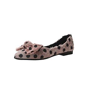 voordelige Damesschoenen met platte hak-Dames Platte schoenen Platte hak Open teen Synthetisch Lente zomer Wit / Zwart / Roze