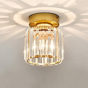 povoljno Kristal Svjetla-CONTRACTED LED® Kristal / Geometrijski Flush Svjetla Ambient Light Glass Crystal, Mini Style 110-120V / 220-240V