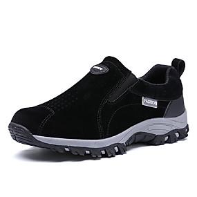 baratos Sapatos Esportivos Masculinos-Homens Sapatos Confortáveis Lona / Poliester Primavera Verão Esportivo / Casual Tênis Corrida / Fitness Respirável Azul Escuro / Cinzento Escuro / Khaki