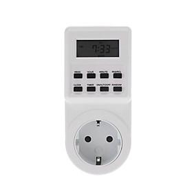 voordelige Super Korting-ts-t01 timing socket keuken timing schakelaar socket elektronische timer oneindige cyclus