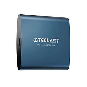 ราคาถูก ส่วนประกอบคอมพิวเตอร์-teclast ฮาร์ดไดรฟ์ protable อินเตอร์เฟส 512GB typec อินเตอร์เฟสขนาดเล็กความเร็วสูง