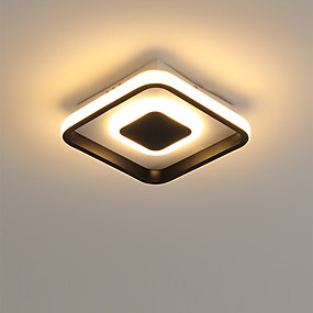 cheap Super Sales-Linear Flush Mount Lights Ambient Light Painted Finishes Metal Acrylic LED 110-120V / 220-240V Warm White / Cold White