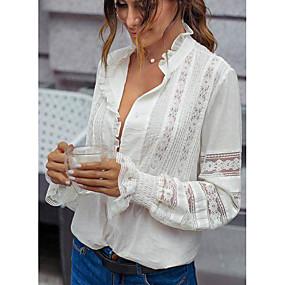povoljno Pretprodaja-Majica Žene - Ulični šik Kauzalni Geometrijski oblici Print Obala US8 / UK12 / EU40