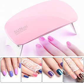 voordelige Nageldrogers & Lampen-opvouwbare 2 versnellingen timing nail art lamp nagel droger uv-uithardingslamp nagel gel polish machine