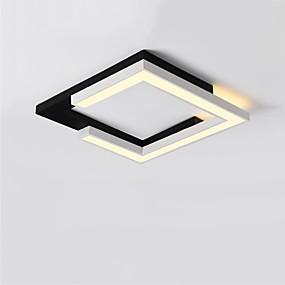 billige Forbedringer til hjemmet-CONTRACTED LED® Lineær / geometriske Skyllmonteringslys Nedlys Malte Finishes Metall LED, Nytt Design 110-120V / 220-240V Varm Hvit / Hvit