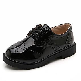 povoljno Kids' Oxfords-Dječaci / Djevojčice PU Oksfordice Velika djeca (7 godina +) Udobne cipele Crn / Obala Ljeto