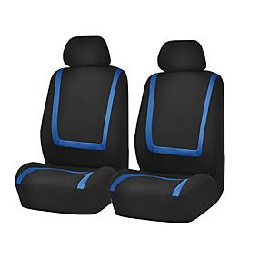 abordables 50%OFF-housse de siège de voiture universel tissu polyester housse de siege de vehicule protecteur accessoires interieurs 4pcs