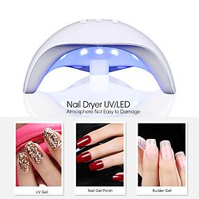 voordelige Nageldrogers & Lampen-36w slimme sensor nagel droger met timer lcd-scherm nail art tools auto-inductie manicure lamp