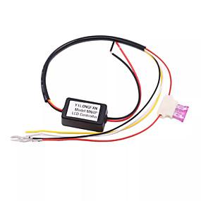billige Nyankomne i august-pa/ av dimmer automatisk dimmer led dagslys lpelys rel harness drl controller module