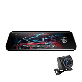billige Nyankomne i september-Anytek T12+ 1944p Nytt Design / Dual Lens / Oppstart automatisk opptak Bil DVR 170 grader Bred vinkel 2 MP CMOS 9.7 tommers Dash Cam med G-Sensor / Parkeringsmodus / Bevegelsessensor Bilopptaker