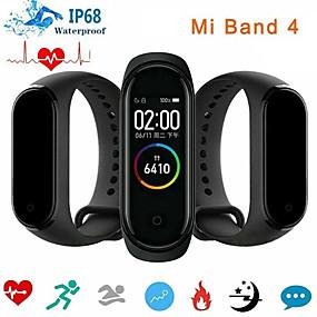billige 8.8 SALE-xiaomi mi band 4 smartklokke bt 5.0 fitness tracker-støtte varsler kompatible samsung / huawei androidtelefoner og iphone (Kina-versjon)