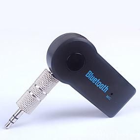 billige Nyankomne i oktober-3.5 bilmontert trådløs Bluetooth-lydmottakeradapter Bluetooth-musikkmottaker