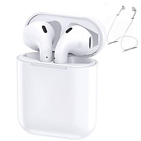 billige Hodetelefoner og hodetelefoner-originale i30 tws ekte trådløse øreplugger øretelefoner støtter pop-up-funksjon berøringskontroll 6d super bass bluetooth 5.0