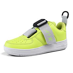 baratos Tênis Masculino-Homens Sapatos Confortáveis Couro Ecológico Primavera / Outono Esportivo / Casual Tênis Preto / Branco / Verde