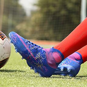 baratos Sapatos Esportivos Masculinos-Homens Vulcanized Tênis Microfibra Primavera Verão Esportivo Tênis Futebol Respirável Slogan Fúcsia / Laranja / Verde