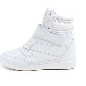 voordelige Damessneakers-Dames Sneakers Platte hak Ronde Teen Netstof Hardlopen Herfst winter Wit
