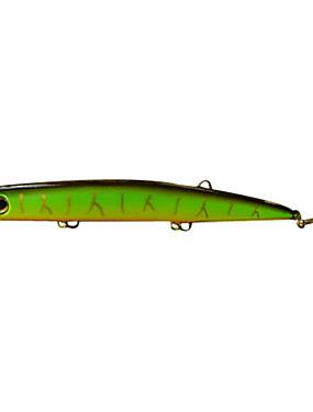 billige Sport og friluftsliv-1 pcs Sluk Hard Lokkemat Popper Plast Søfisking Ferskvannsfiskere Bass Fiske