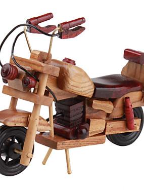 povoljno Igračke i hobiji-drveni stol ukras motocikl
