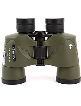 저렴한 스포츠 & 아웃도어-Esdy 8 X 50 mm 쌍안경 전술적 인 밀리터리 방수 전체 멀티 코팅 BAK4 나이트 비젼 탄성 고무 / 사냥