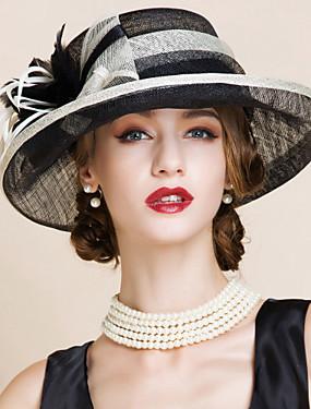 povoljno Vjenčanja i eventi-Žene Color block Zabava Polucilindar i cloche šešir
