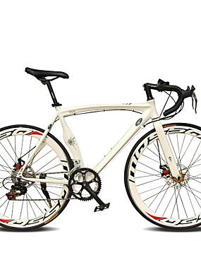 billiga Sport och friluftsliv-Väg Cykel Cykelsport 14 Hastighet 26 tum / 700CC SHIMANO TX30 Dubbel skivbroms Vanlig Monocoque Vanlig Aluminiumlegering / #