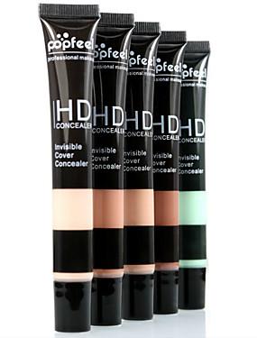 Χαμηλού Κόστους αποκρύπτων & Contour-5 Χρώματα Κονσίλερ Concealer / Contour 1 pcs Υγρό Χρωματιστό γκλος / Μακράς Διάρκειας / Κονσίλερ Τσάντες / Χείλος / Πρόσωπο Μακιγιάζ Καλλυντικό