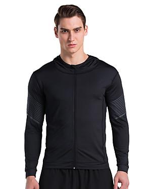 povoljno Sport és outdoor-Vansydical® Sportski Moda Majice Sposobnost Dugih rukava Odjeća za rekreaciju Quick dry Visoka elastičnost