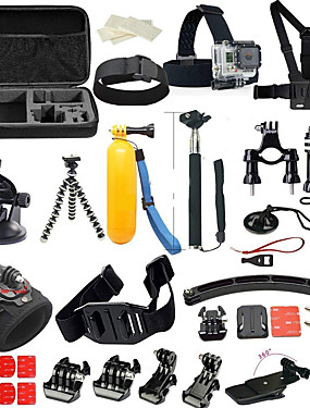 cheap Sports & Outdoors-Accessory Kit For Gopro 36 in 1 Multi-function Foldable For Action Camera Gopro 6 Gopro 5 Xiaomi Camera Gopro 4 Gopro 4 Silver Diving Surfing Ski / Snowboard PVC(PolyVinyl Chloride) Neoprene ABS