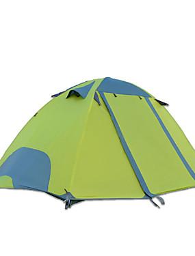 povoljno Sport és outdoor-DesertFox® 2 osobe Planinarski ruksaci Vanjski Vodootporno Otporno na kišu Dvaput Slojeviti šator za kampiranje 2000-3000 mm za Kampiranje Oksford